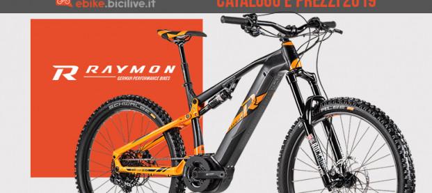 Le bici elettriche R Raymon del 2019: catalogo e prezzi