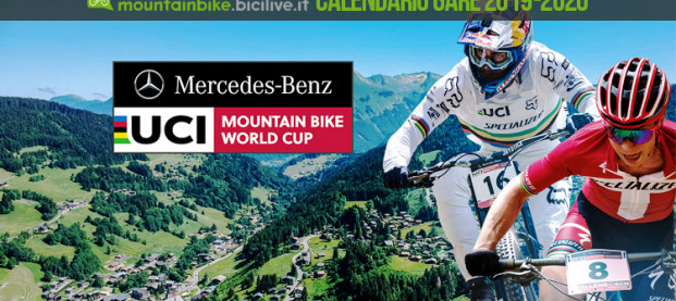 Il calendario delle gare Mercedes-Benz UCI Mountain Bike World Cup 2019 e 2020