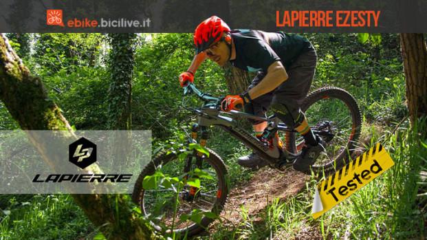 """Lapierre Ezesty, la prima ebike """"ibrida"""" con motore Fazua"""