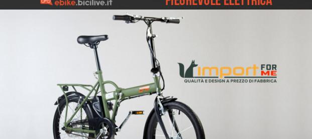 Bici elettrica pieghevole IFM: robusta, veloce e sicura