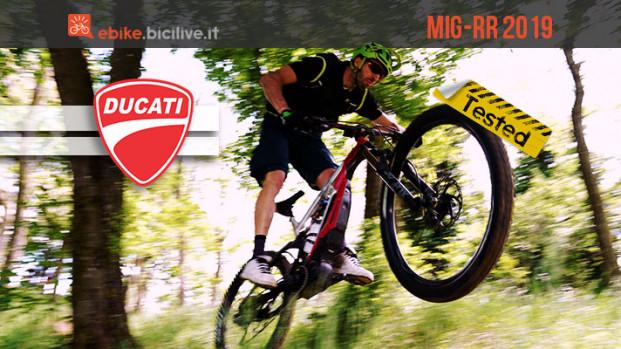 Il test della Ducati MIG-RR by Thok, una eMTB da competizione