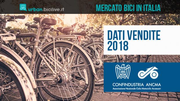Dati ANCMA 2018: il mercato delle bici sorride