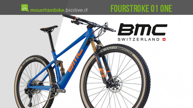 La BMC Fourstroke 01 One, una XC full per chi vuole distinguersi