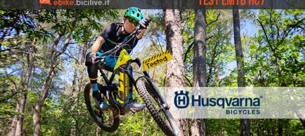 Il test della e-MTB Husqvarna 27,5 HC7: 180 mm e grinta da vendere