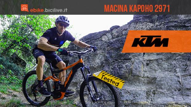Il test della KTM Macina Kapoho 2971: ruote differenziate e versatilità