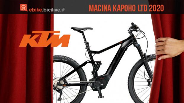 Novità eMTB 2020 da KTM: la Macina Kapoho LTD