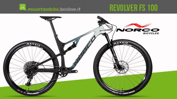 Norco Revolver FS 100: la mountain bike tutta potenza e controllo