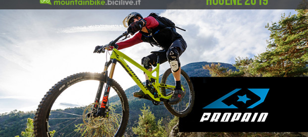 Propain Hugene: dalla Germania una 29″ da trail in carbonio