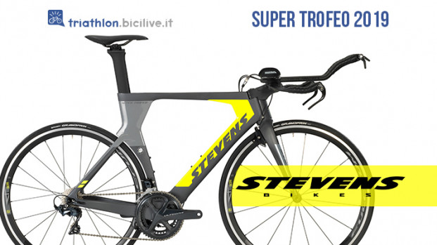 Stevens Super Trofeo: bicicletta in carbonio per il triathlon