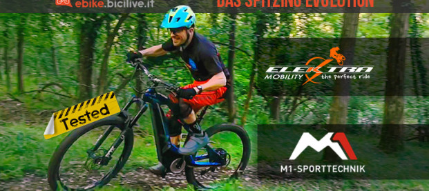 Il test della eMTB M1 Sport Technik Das Spitzing Evolution