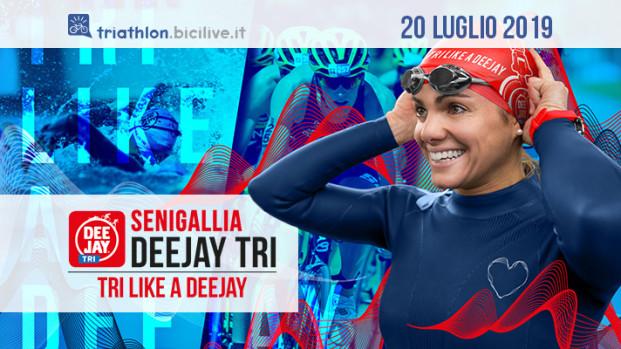 Il triathlon della Senigallia Deejay Tri: lungomare in festa dal 20 luglio 2019