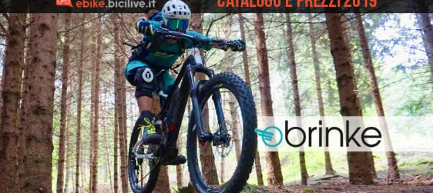 Le e-bike Brinke del 2019: catalogo e listino prezzi