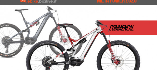 Le nuove e-MTB Commencal Meta Power 2020: SX e 29
