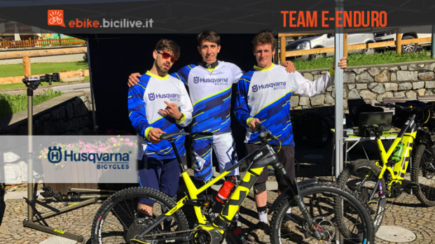 L'Husqvarna Ridewill Factory Team dell'e-Enduro