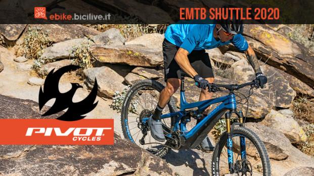 Pivot Shuttle 2020: una e-MTB leggera da trail