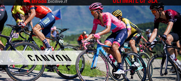 Canyon Ultimate CF SLX: la bici della maglia rosa 2019 Richard Carapaz