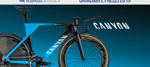 Canyon Speedmax per il triathlon: catalogo e listino prezzi 2019