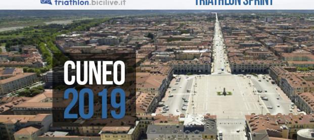 Triathlon città di Cuneo 2019: si gareggia il 25 agosto