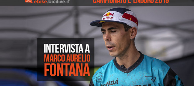 E-Enduro Val di Pejo 2019: intervista a Marco Aurelio Fontana