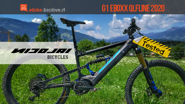 Il test della eMTB Nicolai G1 EBOXX QLFLINE: geometrie estreme