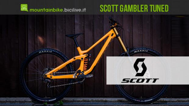 La nuova Scott Gambler Tuned da DH: disponibile da dicembre