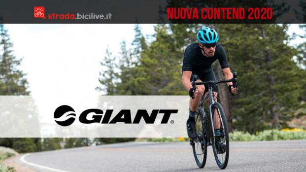 Giant Contend 2020: la nuova serie da strada in alluminio