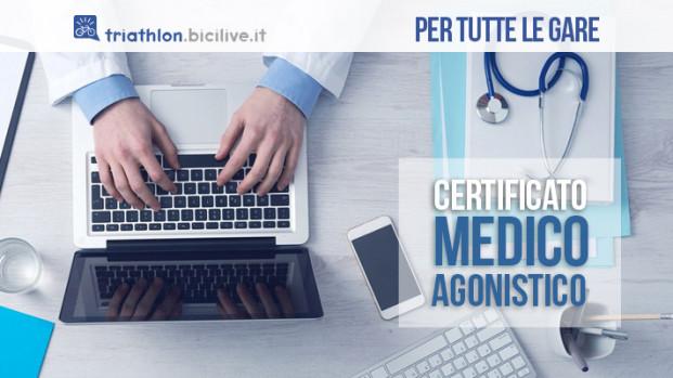 Tutto sul certificato medico agonistico per il triathlon