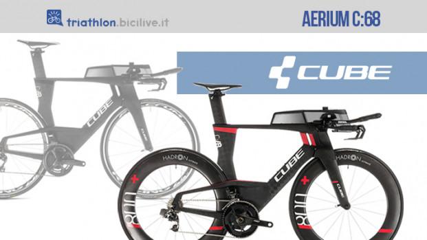 Cube Aerium C:68: dettagli aerodinamici per il triathlon