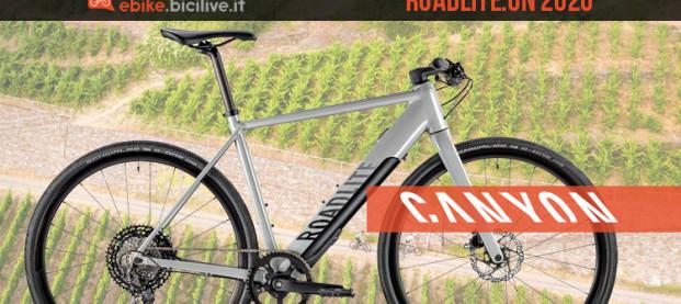 Canyon Roadlite:ON 2020, la bici elettrica per l'e-Fitness