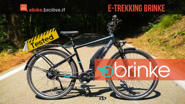 Il test della ebike Brinke Rushmore Evo Di2 Sport: comfort e sicurezza