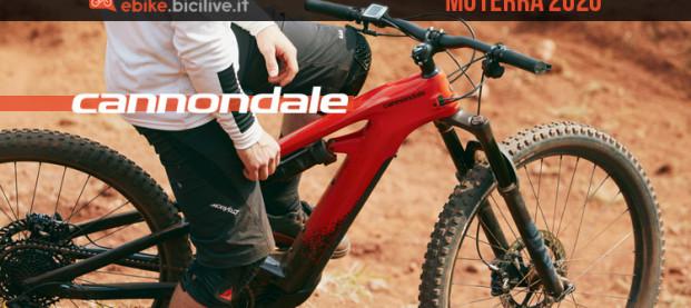Nuova eMTB Cannondale Moterra: ruote da 29″ e triangolo in carbonio
