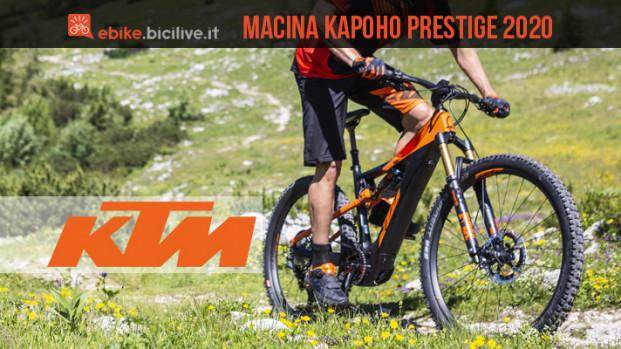 KTM Macina Kapoho Prestige 2020: nuovo Bosch CX e batteria da 625Wh