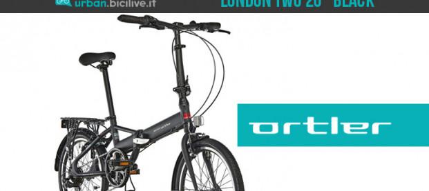 Ortler London Two 20″ Black: la bici pieghevole che ci segue ovunque