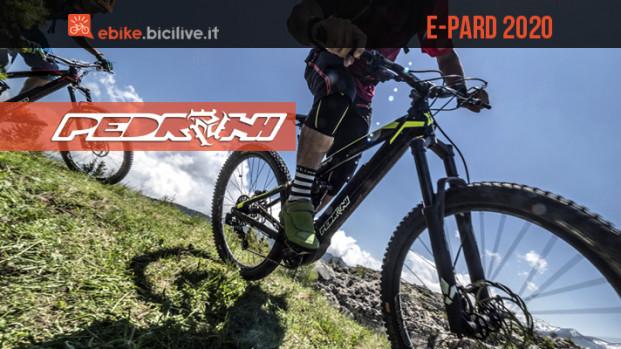 Pedroni E-Pard 2020: eMTB 29″ enduro con motore Polini