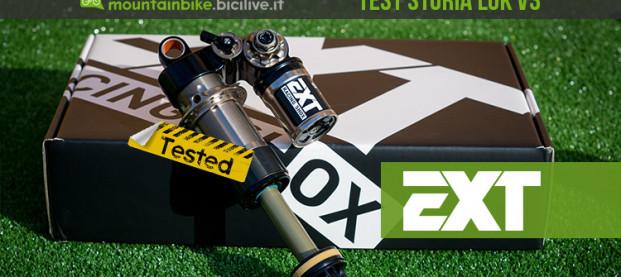 """Il test dell'ammortizzatore EXT Storia LOK V3: """"Arma"""" da enduro"""