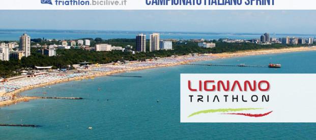 Campionato Italiano Triathlon Sprint Individuale 2019, il 28 settembre a Lignano Sabbiadoro