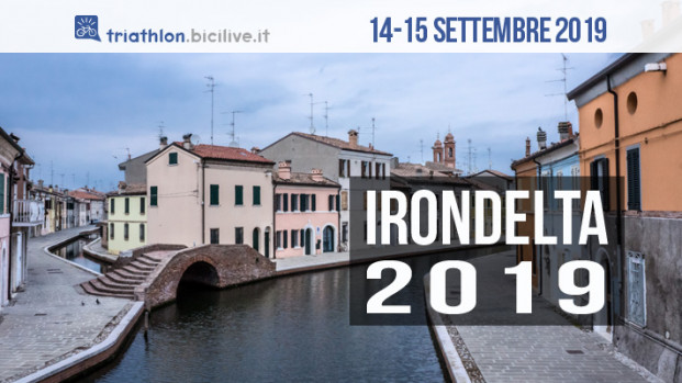 Irondelta 2019, triathlon al Lido delle Nazioni il 14-15 settembre