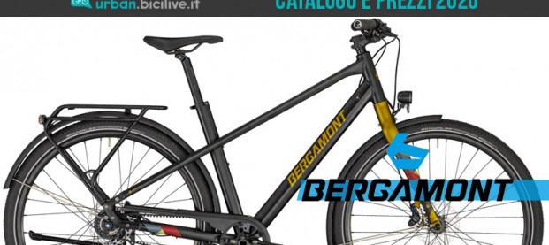 Le biciclette da trekking, urban e city di Bergamont: il catalogo 2020