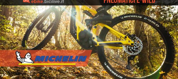 Michelin E-Wild: il pneumatico pronto conquistare gli appassionati delle MTB elettriche
