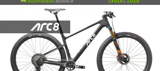 ARC8 Evolve 2020: l'hardtail da XC con soluzioni innovative