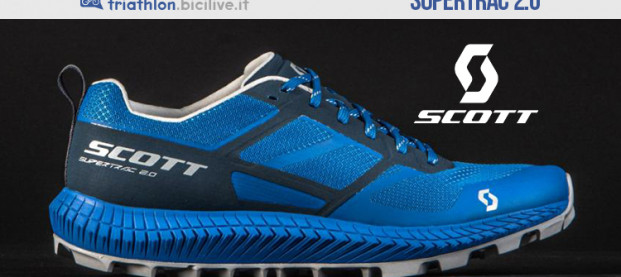 Scott Supertrac 2.0, la scarpa per correre in montagna