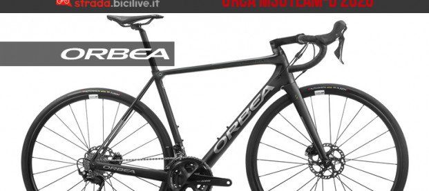 Orbea Orca M30Team-D: nuova bici racing gamma 2020