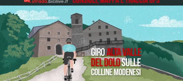 Alta Valle del Dolo, sull'Appennino modenese: itinerario e traccia GPS