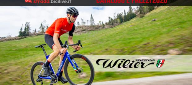 Wilier Triestina 2020: catalogo e listino prezzi bici da corsa e gravel
