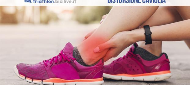 La distorsione della caviglia e rimedi per il recupero