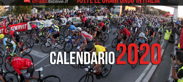 Calendario completo Granfondo ciclismo 2020