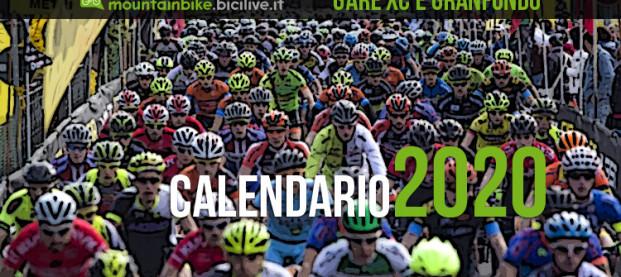 Il Calendario delle gare Granfondo mtb e Cross Country 2020 in Italia