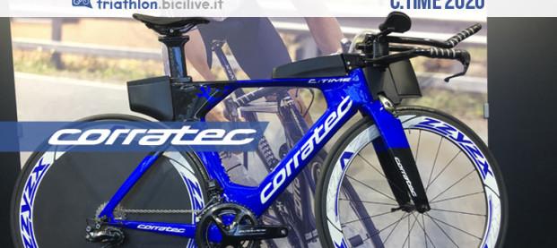 Corratec C:Time 2020: una nuova gamma di bici da triathlon