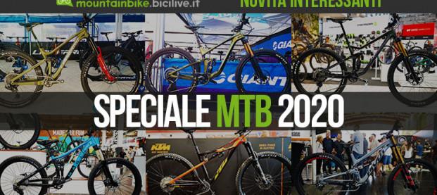 Speciale: le nuove mountain bike 2020