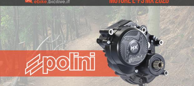 Polini E-P3 MX, la nuova generazione di motori per ebike